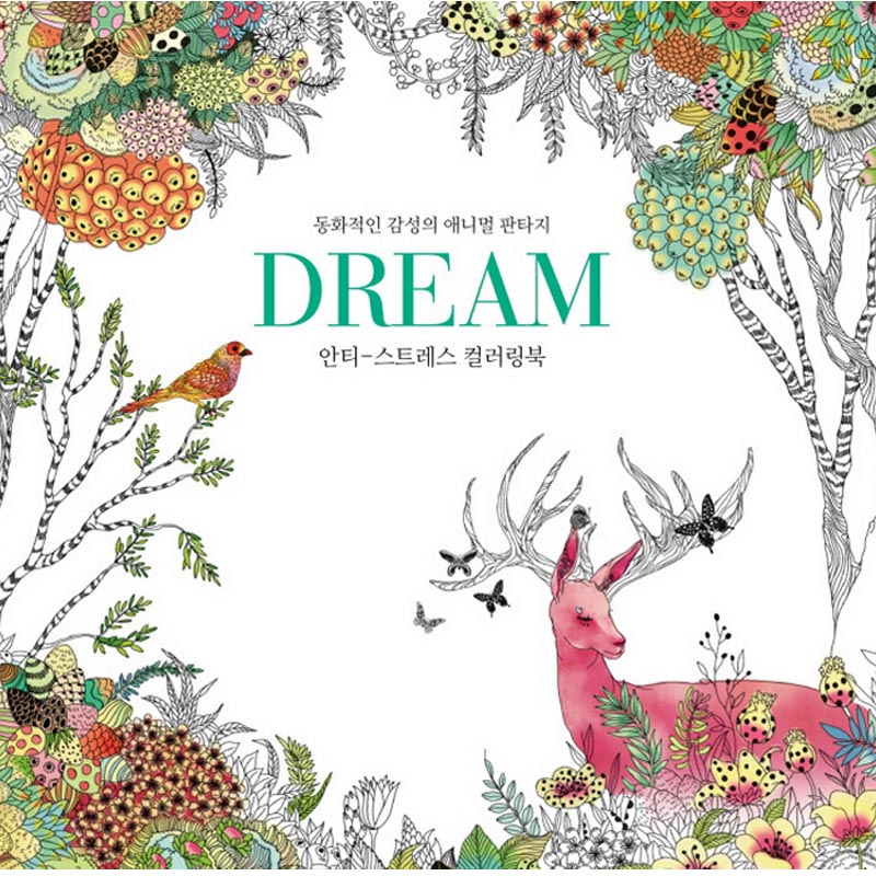 Buy Secret Garden Dream Women Lady Girls Adult Child Coloring Book