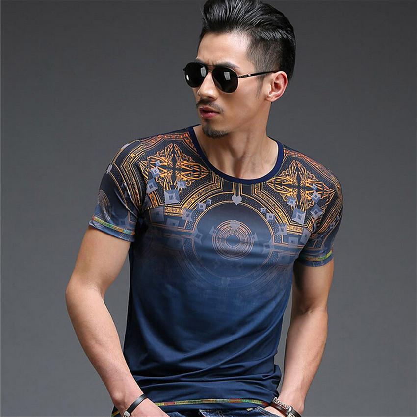 Hot 2015 top fashion Spring Summer Men's T-shirt men short sleeve brand T shirt Tops mens clothing dress free shipping(China (Mainland))