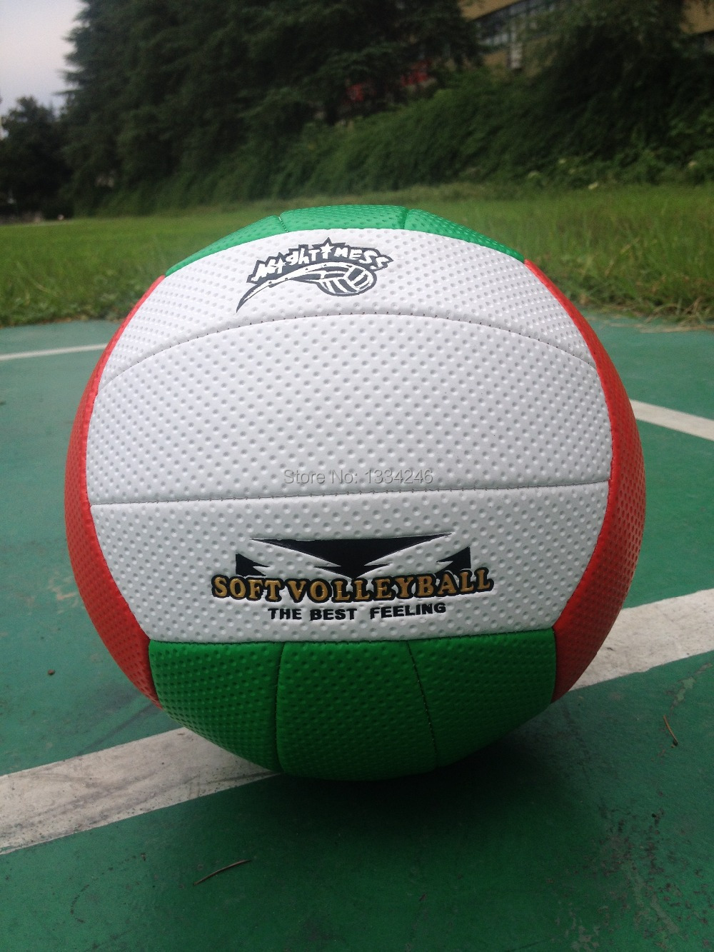 Free Shipping Beach Volleyball Official Volley ball size5 voleibol Soft volleyball ball High Quality 18 Panels Match Volleybal(China (Mainland))