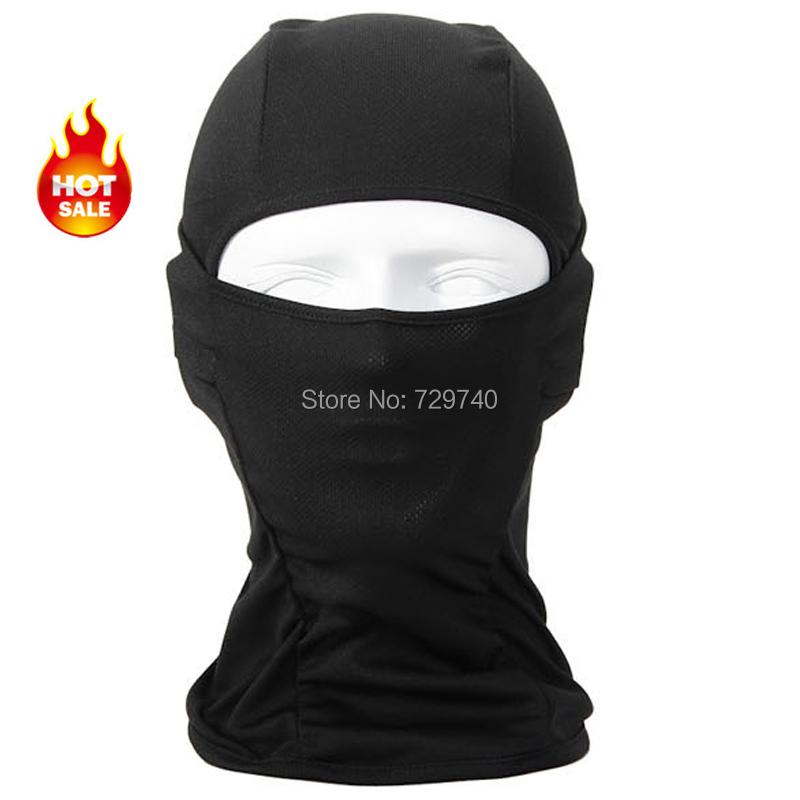 Balaclava Breathable Speed Dry Outdoor Sports Riding Ski Mask Tactical Head Cover Motorcycle Cycling UV Protect Full face Mask(China (Mainland))