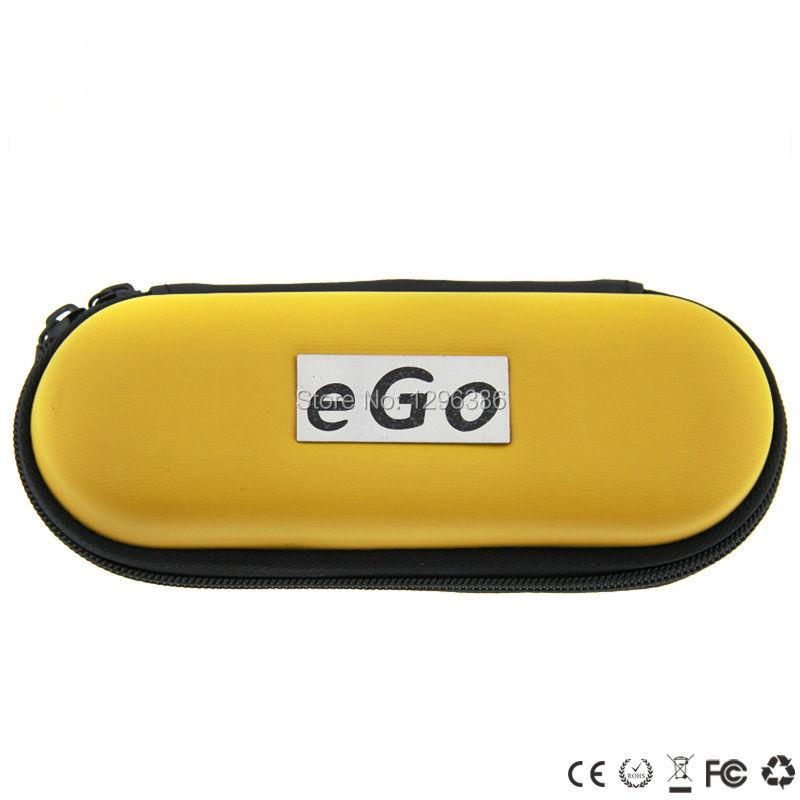 10pcs/lot small zipper case for electronic cigarette starter kits ego zipper bag for e cig single kits leather zipper case bag(China (Mainland))