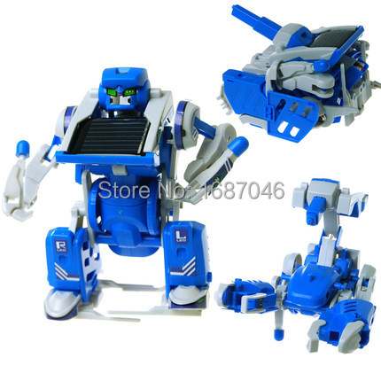 DIY Solar Toys Novelty DIY Gag Combined into Robot Tank Scorpion Machine Modeling Toy(China (Mainland))