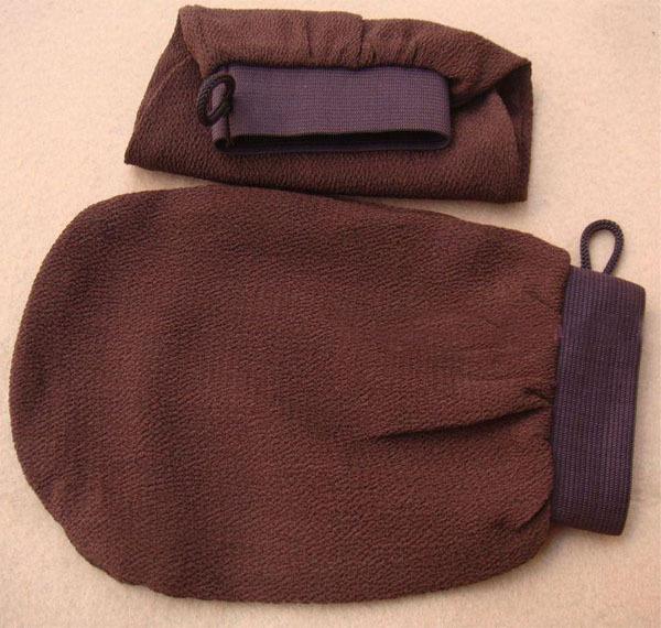 10pcs/lot morocco hammam scrub mitt magic peeling glove exfoliating tan removal mitt(China (Mainland))