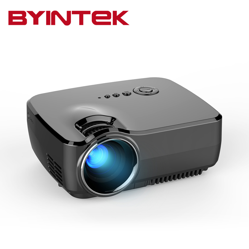 BYINTEK GP70 AM01 1800lumens USB VideoGame 1080P HD Home Theater LCD HDMI Mini LED Projector Projetor Beamer(China (Mainland))