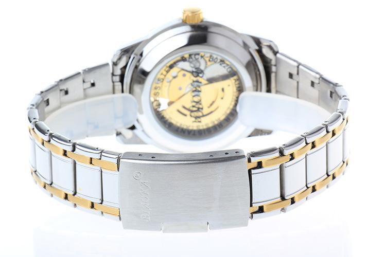 2016 Новое Золото мужская Скелет Наручные Часы Из Нержавеющей стали, Антикварные водонепроницаемый Повседневная Автоматическая Скелет Механические Часы Мужчины