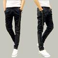 2015 Autumn Fashion Classic Jeans Casual  Men Jeans Famous Straight Korean Slim Brand  Pants Plus 28-34 Size 1.20-361