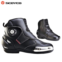 Motorcycle boots winter automobile race boots ride boots competition shoes off-road(China (Mainland))