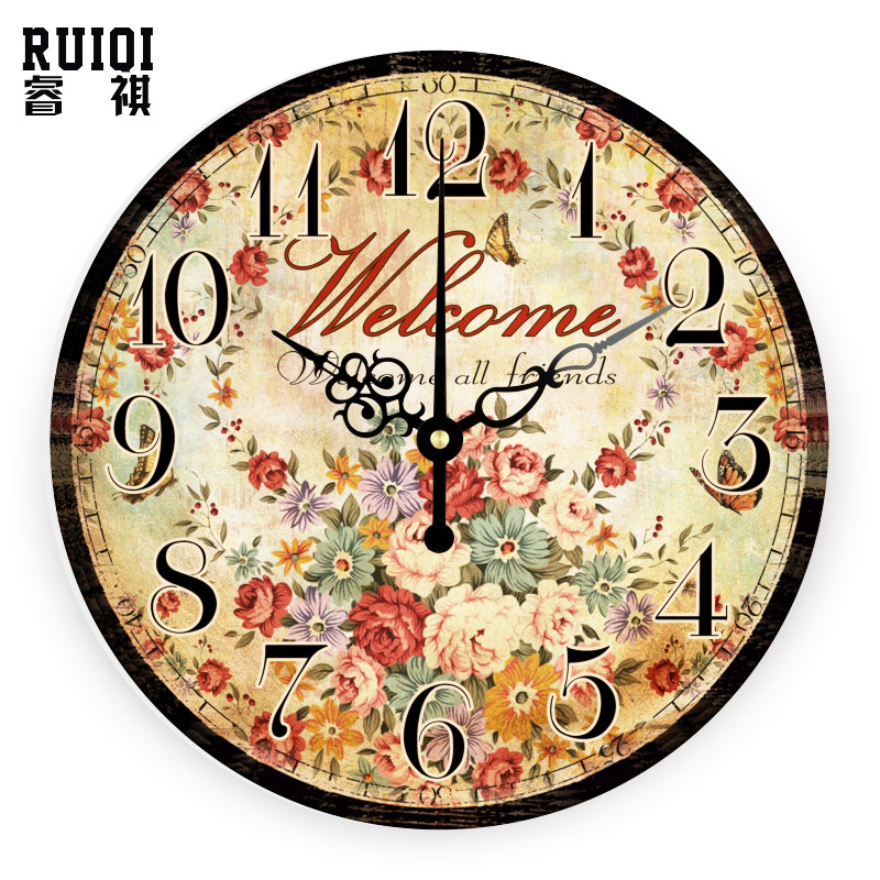 decorative wall clock absolutely silent living room decoration wall