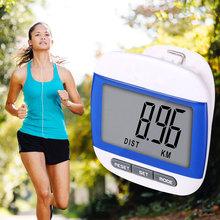 Colorful Waterproof Step Movement Calories Counter Multi-Function LCD Digital Pedometer(China (Mainland))