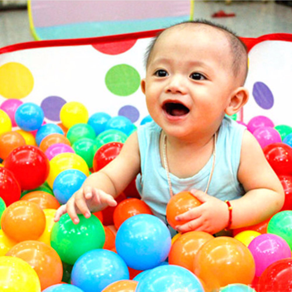 50pcs Colorful Marine Balls for Children Baby Playpens Baby Children's Educational Toys Baby Kid ABS Material Toy Ball(China (Mainland))