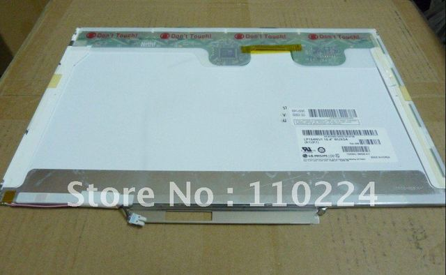 15.4 inch laptop lcd screen: LP154WU1 for IBM thinkpad T500 W500 T60 Dell M4400 M65 6400 D810 D830 Compatible model: LTN154U1