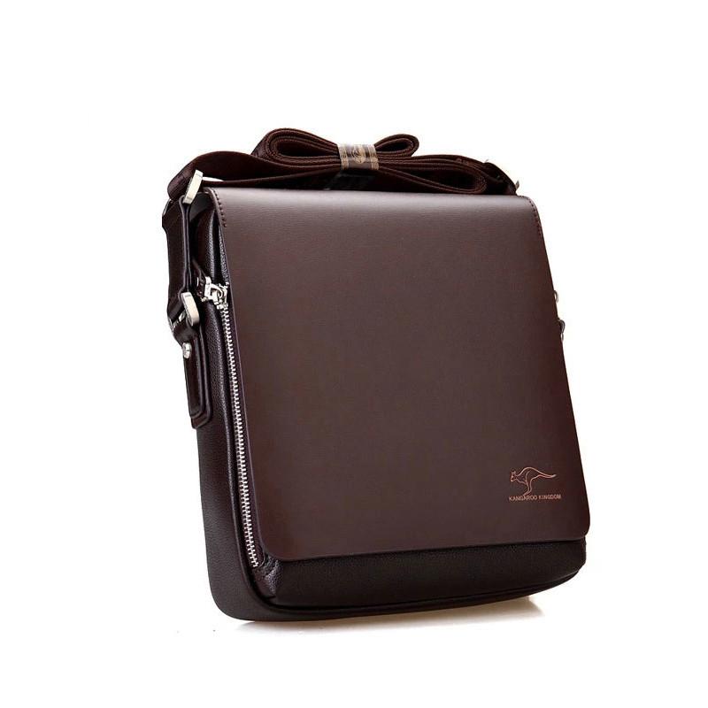 Men bag 2015 messenger bags, men leather crossbody bag, brand men's shoulder bag vertical section 3 size(China (Mainland))