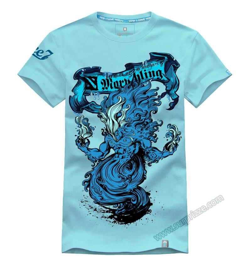 Dota 2 morphling t shirt 3d printed navy blue tee shirts for T shirts for men printed