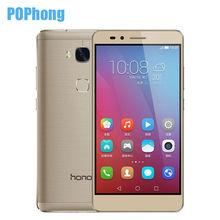 Original Huawei Honor 5X Play 2GB RAM 16GB ROM 4G LTE Cell Phone Snapdragon 615 MSM8939 64 bit Octa Core 5.5'' FHD Fingerprint(China (Mainland))