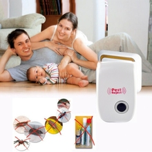 2016 New Arrival Electronic Ultrasonic Pest Repellent Anti Mosquito Insect Mouse Repeller Killer Bug Reject Mole mice EU US Plug(China (Mainland))