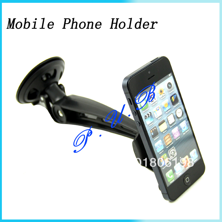For iPhone 4/4S 5 As Seen On Tv Universal Car Holder Wrench Mobile Phone Security Display Stand 360 Degree Rotating(China (Mainland))