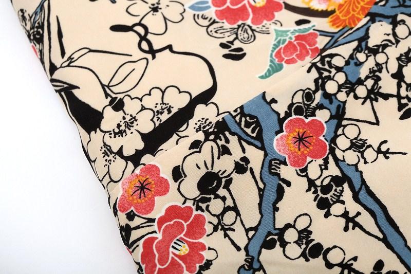 2015 весна осень оптовая ретро винтаж Восточные птицы цветы цветочный печати с длинным рукавом длинный блейзер куртка реальные фото