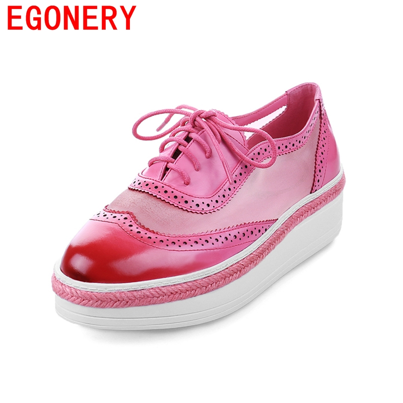 2016 drop shipping shoes woman low heels round toe pumps wedding shoes genuine leather black yellow pink office lady pumps<br><br>Aliexpress