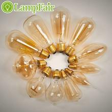 Vintage Retro DIY E27 Incandescent Light Handmade Fixtures Glass LED Edison Bulb ST58/G80 40W 110-240V Pendant Lamps Lampfair(China (Mainland))