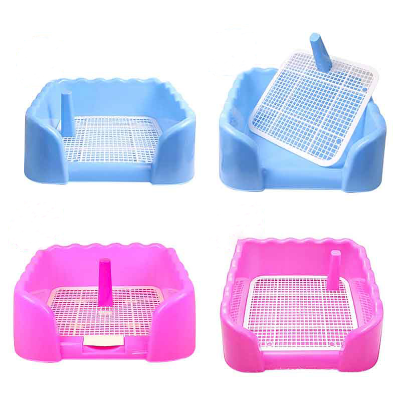 Indoor Pet Dog Toilet Training Pad Plastic Tray Mat Pet Supplies Accessories Small Dog Toilet Potty Pad Urine Splashes BBM886(China (Mainland))