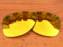 Fire Red Mirror Polarized Replacement Lenses For Dispatch 2 Sunglasses Frame 100% UVA & UVB Protection