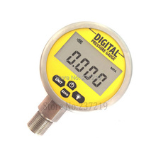 0-60Mpa(8700psi) G1/4 0.25% Accuracy Battery Powered Digital Pressure Gauge LCD display 4 units(China (Mainland))