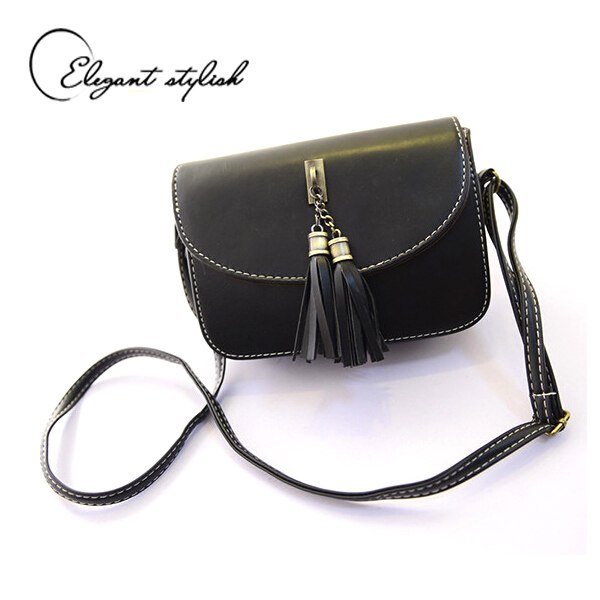 2015 Rushed fashion Handbag time-limited Top Women's Single Shoulder Female Bag Tassel Cross-body bag Women Messenger bags(China (Mainland))