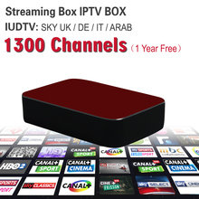 Streaming IPTV Box Mag 254 Mag 250 1Year 1300+ Sky Canal Channels IPTV Server Streaming Box Streaming Sever Media Player