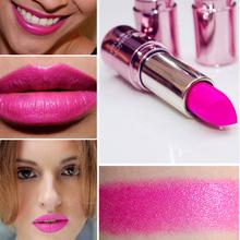 labiales matte Maquiagem Brand Makeup Long- lasting Lipsticks For Women Moisturizing Waterproof Matte Pink Lipstick(China (Mainland))