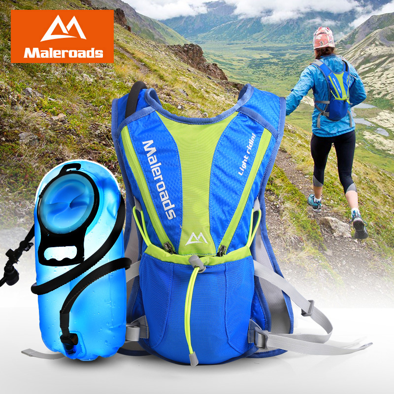 Maleroads 5L Cycling Backpack Cross-country Running bag Ultralight Outdoor Sports Hiking Travel Hydration mini Bicycle Backpacks(China (Mainland))