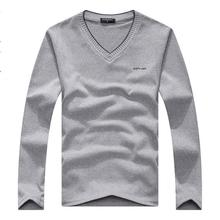 Free shipping 2015 hot selling fashion Korean style men's Long sleeve sweater slim fit men's tops knitwear 7 colors size L-XXL(China (Mainland))