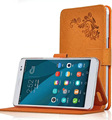 Flip Smart Cases Printing Pattern Folio Cover With Stand PU Flower Leather Case Cover For Huawei