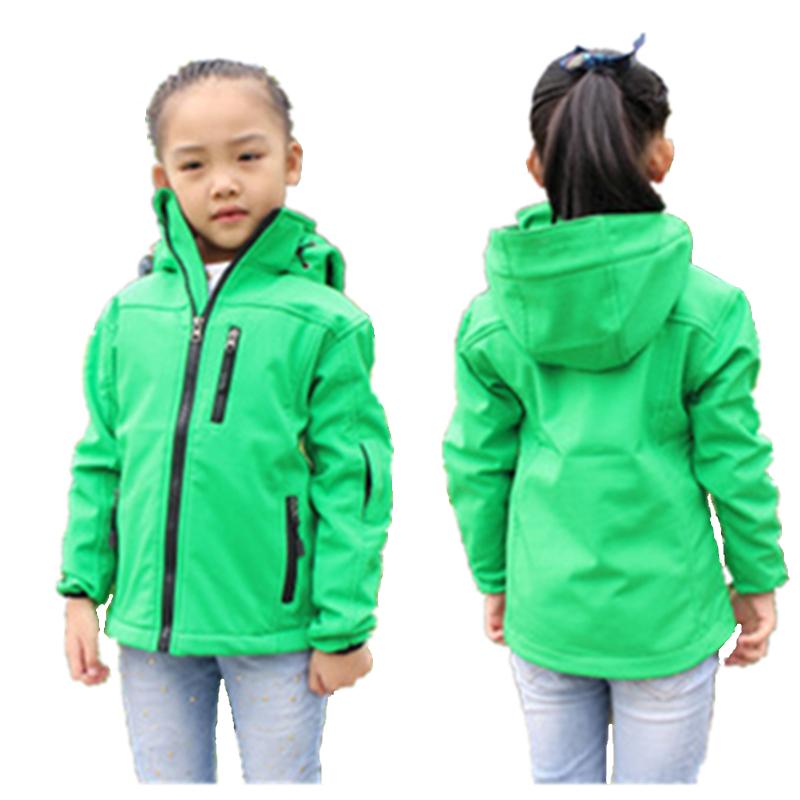 Kids Softshell Toddler Baby Boy Girl Jacket Coat Clothes Spring minnie Children outerwear Jackets Windbreaker Waterproof blazer(China (Mainland))