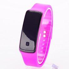 Nova Pulseira de Silicone Mulheres Homens LED Digital Tela Relógio Vestido Relógios Desportivos Da Moda Ao Ar Livre Relógios De Pulso Relogio