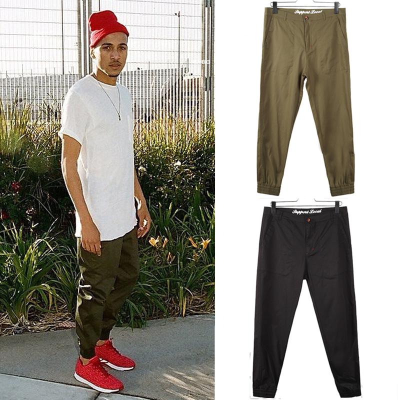 2014 HOT men jogger chino pants fashion mens outdoors ...