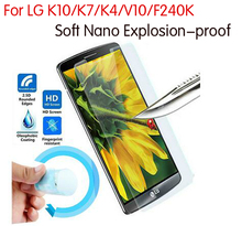 3x New Nano Explosion-proof Screen Protector Guard Foil Cover Film LG K8 K10 K7 K4 V10 F240K Tempered Glass - all4phones store