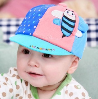 Children Baby Hat Spring Autumn Baseball Kids Cap Sun Sunbonnet Infant Cap Baseball Snapback Hat Kids Summer Children Baby Hat(China (Mainland))