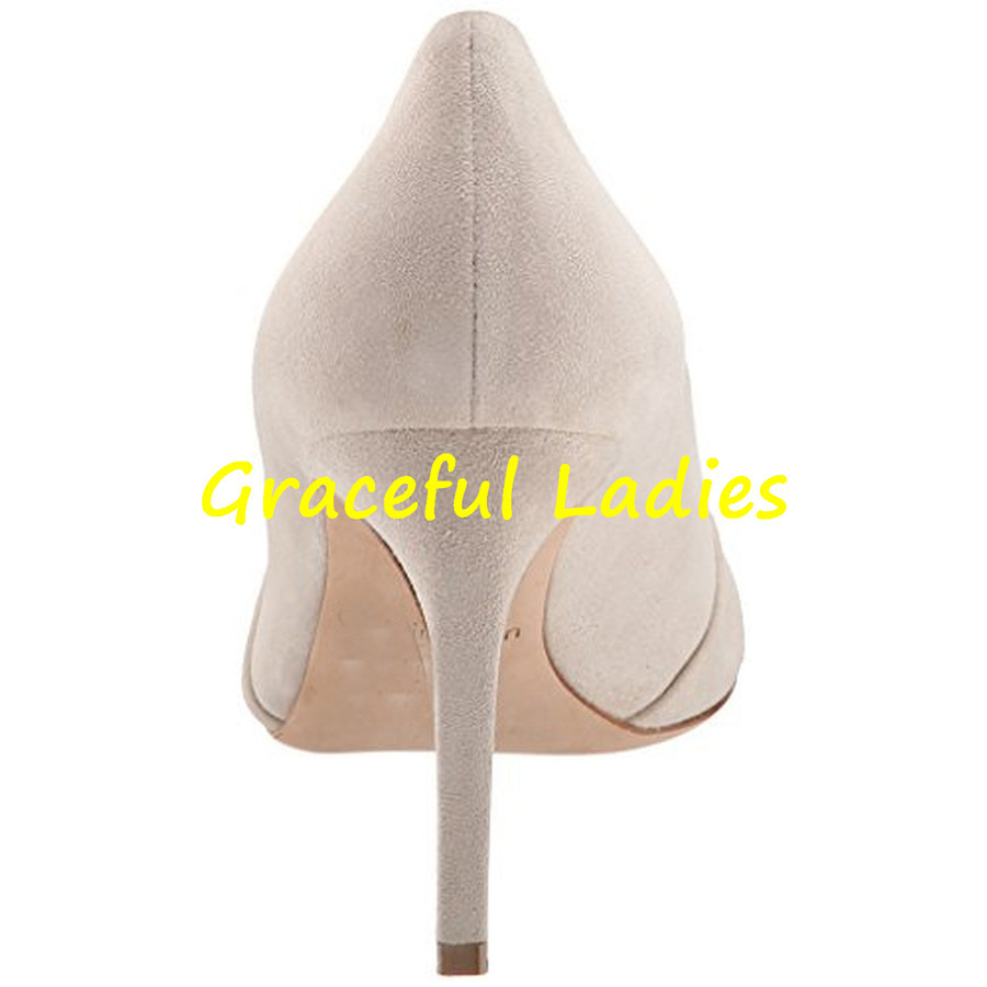 Nude Pointed Toe Dress Shoes Low Heel Women Pumps 2015 New Fashion Stiletto Heel Size 34 Shoes Slip-ons Spring Designer