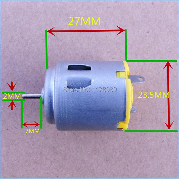 r260 dc3 6v petit dc lectrique moteurs de voiture petit moteur courant continu livraison. Black Bedroom Furniture Sets. Home Design Ideas