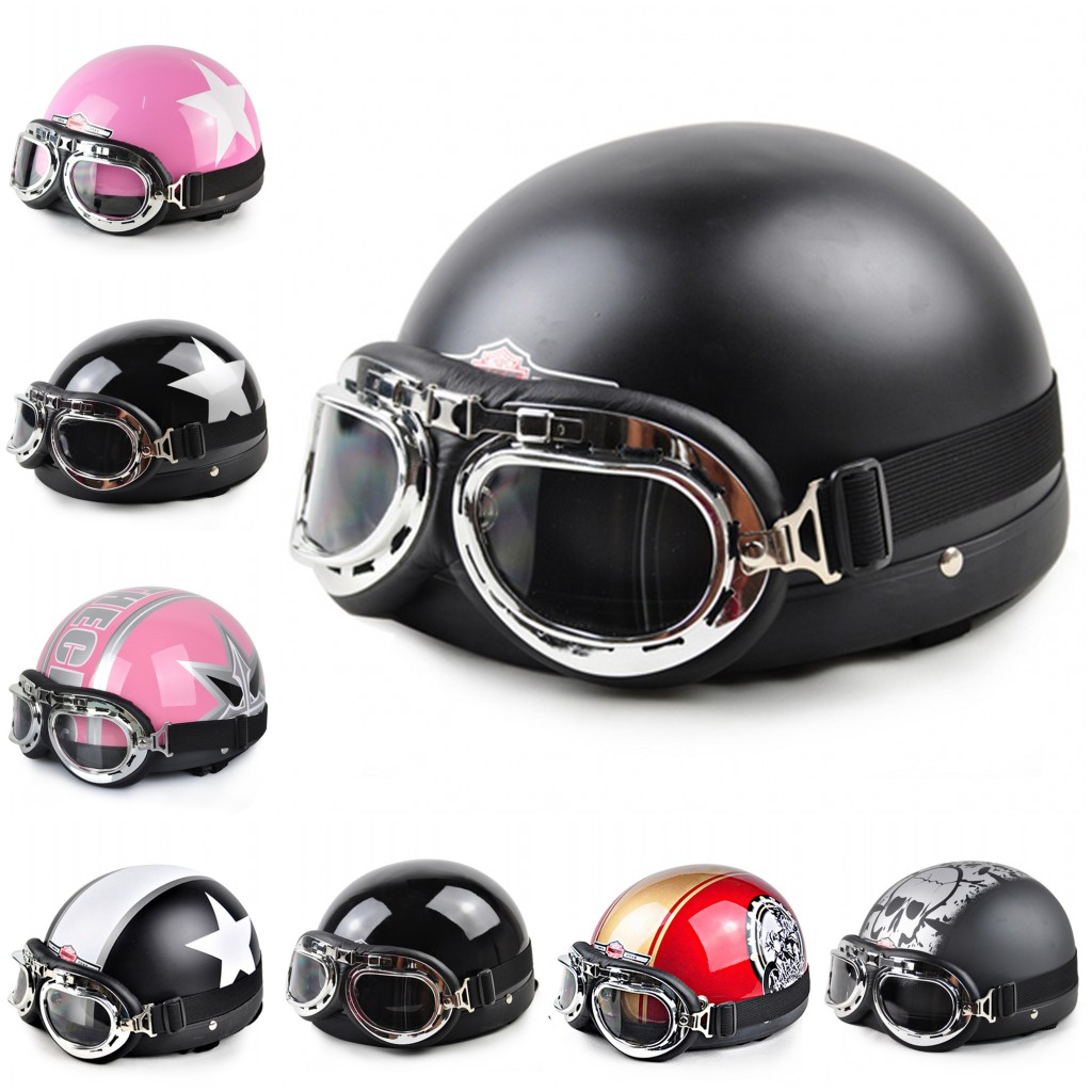 Free shipping! Motor Cross Off Road Helmet Vintage Style Open Face Half Motorcycle Capacete Motorcycle Helmet & Goggles & Visor(China (Mainland))