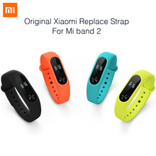 Buy 100% Original Xiaomi mi band 2 Strap Belt Silicone Colorful Wristband Mi Band 2 Smart Bracelet Xiaomi Band 2 Accessories for $4.84 in AliExpress store
