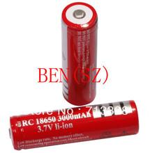 10 шт. / Lot литиево-ионная 3000 mAh 18650 перезаряжаемый 18650 батареи
