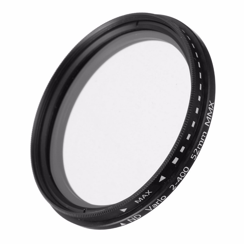 ND Filter Fader Neutral Density Adjustable ND2 to ND400 Variable Filter 52mm 58mm 62mm 67mm 77mm for Nikon for Canon Camera SLR(China (Mainland))