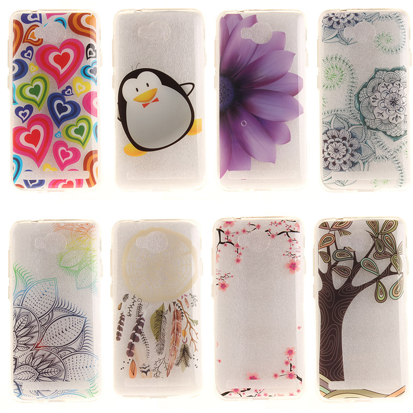 Cases For Huawei Y3 II Y3 2 Y3II Y3 2nd LUA-L02 LUA-L03 LUA-L21 LUA-L22 LUA-U22 Silicon Cell Phone Cases Covers Bags Ultra thin(China (Mainland))