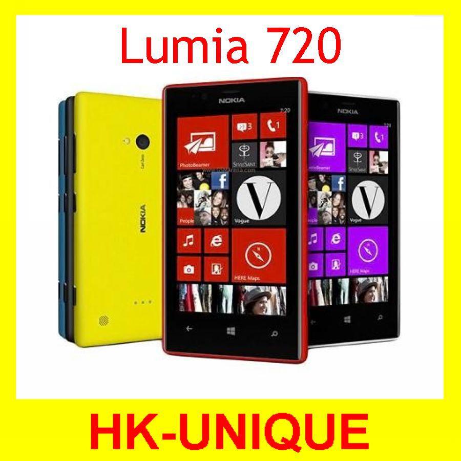 Nokia Lumia 720 Windows Phone 8 Dual Core 1.0 GHz Camera 6.7MP ROM 8GB 4.3 Inch IPS Capacitive 3G Mobile Phone(China (Mainland))