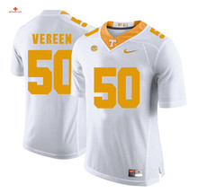 Nike 2017 Uconn Tennessee Corey Vereen 50 White Can Customized Any Name Any Logo Limited Boxing Jersey Cordarrelle Patterson 84(China)