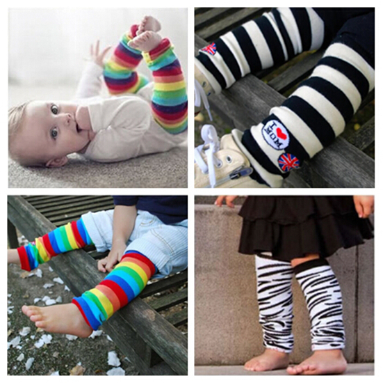 1pc Newborn Baby Boy Girl Child Infant Toddler Kids Leg Warmers leggings Socks Protection baby safety(China (Mainland))