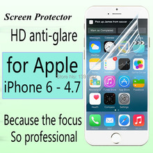 5PC/HD screen protector for iPhone 6 (Screen 4.7) clear screen protective film screen guard with cleaning cloth for gift