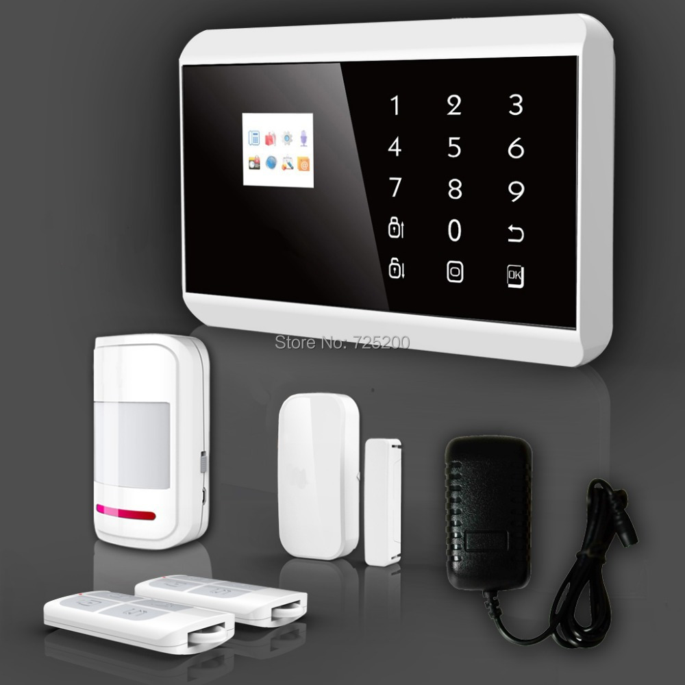 Wireless touch keypad tft color display gsm pstn medical for Best buy security systems