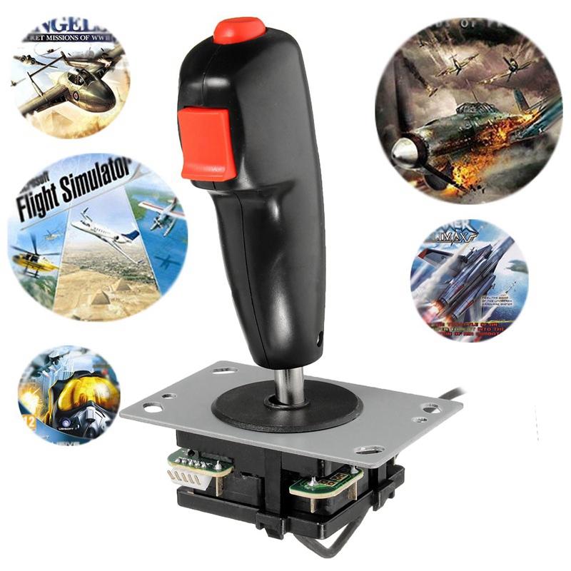 image for 1pc 5p Interface Arcade Flight Games Joystick Professional Arcade Stic